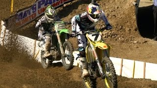 IN TIME: Stewart vs. Dungey vs. Villopoto - 2013 Hangtown National