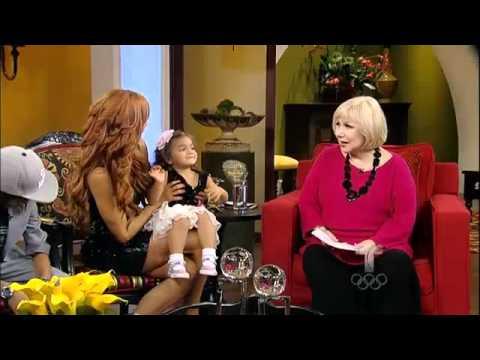 Aylín Mujíca y sus bellos hijos Pa Lante con Cristina
