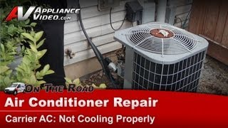 Central Air Conditioner Repair & Diagnostic  - Not cooling properly - 38CKC036350