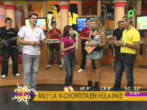 MILY LA K CHORRITA EN HOLA PAIS HOLA PAIS BOLIVIA