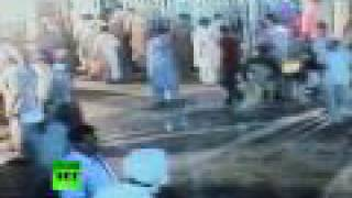 Suicide bomber caught on CCTV, dozens die in Pakistan attacks