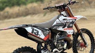 Ultra Yamaha YZ250 2 Stroke Motowhips Build - Dirt Bike Magazine
