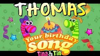 Tina&Tin Happy Birthday THOMAS
