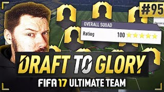 MY NEW HIGHEST RATED DRAFT! - FIFA 17 Ultimate Team Draft To Glory #95