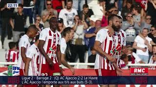 After Foot du dimanche 20/05 – Partie 1/6 - L'AC Ajaccio élimine Le Havre et affrontera Toulouse