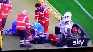 لاعب يرسل المصور للمستشفى في مباراة هوفنهايم أمام ماينز في الدوري الألماني