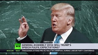 What to expect from Trump's 2018 United Nations speech?