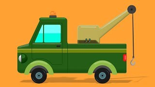 Tow Truck Formation | Video For Toddlers | Song For Children