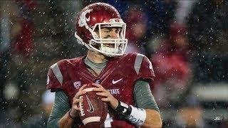 Most Accurate QB in College Football    Washington State QB Luke Falk 2015 Highlights ᴴᴰ