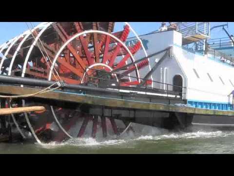 Sternwheeler Crashes into Pirate Ship