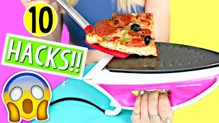 10 Life Hacks for LAZY College Students!! Back to School! Alisha Marie