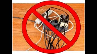 Safety Rules about Electricity (PT group 1- simple Safety Precautions)