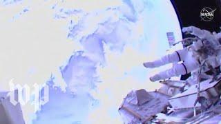 First all-female spacewalk makes history