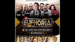 EUPHORIA ( 2017) #DE GLORIOUS AND ROX NATION Day 2 pt1