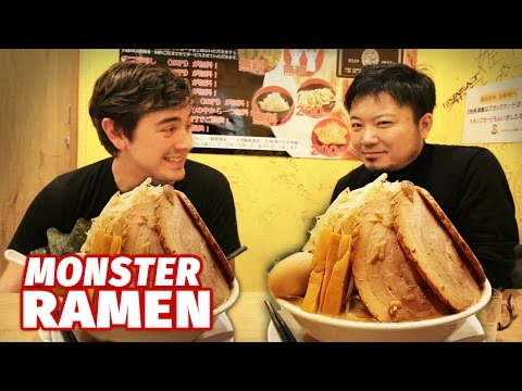 Monster Ramen Challenge Akihabara Tokyo