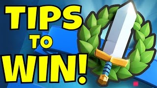 3 TIPS to WIN TOURNAMENTS in Clash Royale! [Tournament Strategy]