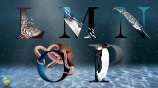 ABC Song - Alphabet Aqua Life  A to Z for Children  2D Animation