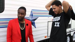 Wale Talking to J. Cole Backstage at BET Awards | Part 2
