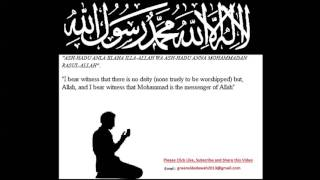 English Lecture: Aqeedah For New Muslims