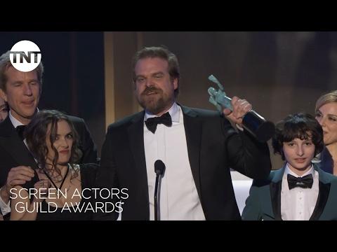 Stranger Things Cast: Acceptance Speech | 23rd Annual SAG Awards | TNT