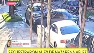 El secuestro de Gonzalo Gamarra, ex pareja de Nazarena Vélez