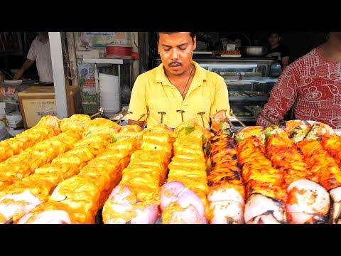 HUUUGE Indian Street Food ADVENTURE in Jaipur India BEST VEGETARIAN Street Food in India SPICY