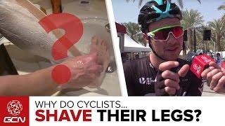 Why Do Cyclists Shave Their Legs? | Abu Dhabi Tour 2016