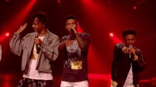 The Contestants sing Fleur East's Sax   Results Show   The X Factor UK 2016