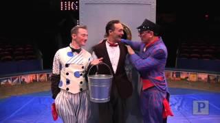 """""""Dames at Sea"""" Star Clowns Around at the Big Apple Circus"""