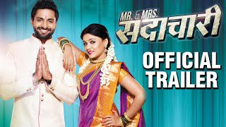 Mr & Mrs Sadachari | OFFICIAL TRAILER | Vaibhav Tatwawadi | Prarthana Behere | Latest Marathi Movie