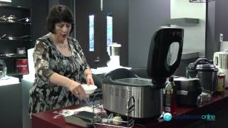 Cooking demo using Tefal's OW6000 Breads of the World bread maker - Appliances Online