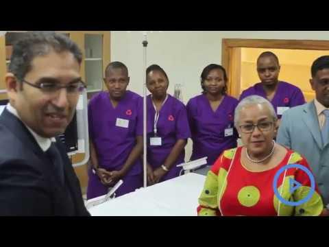Xxx Mp4 First Heart Laboratory Outside Nairobi Opened At The Aga Khan Hospital Mombasa 3gp Sex