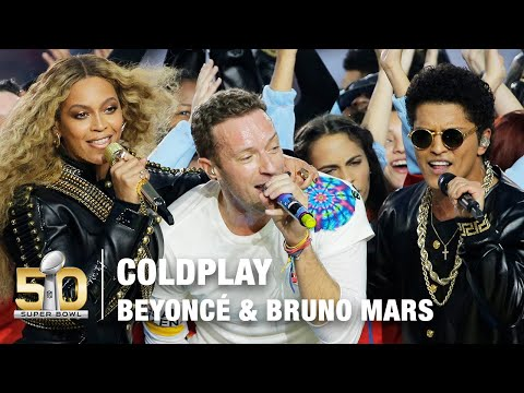 Coldplay s FULL Pepsi Super Bowl 50 Halftime Show feat. Beyoncé & Bruno Mars NFL