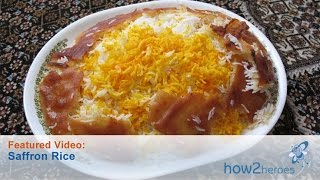 Persian Saffron Rice