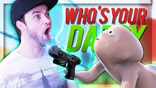BABY SHOOTS DAD!!! - (Who's Your Daddy) w/ Ali-A
