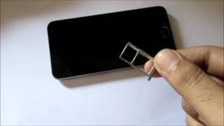 how to use hybrid sim tray in the right way (meizu m2)