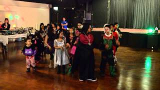 blackpool kids holloween dance 2013