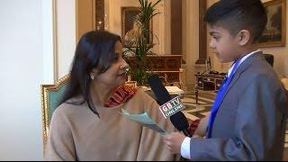 তারানা হালিম এম পি গণপ্রজাতন্ত্রী বাংলাদেশ সরকার   ,ক্ষুদে সাংবাদিক জাইমের মুখোমুখি '