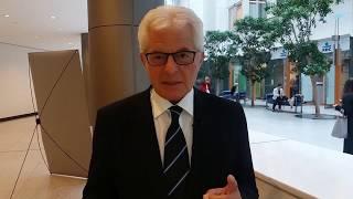 Austrian Euro MP Heinz Becker Declares Support for Free Iran Gathering - 30 June 2018 - Paris