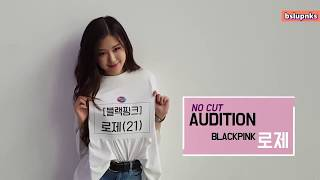 [ENG SUB] BLACKPINK Rose No Cut Audition for Fantastic Duo 2 (170804)