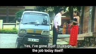 Boss Try To Rape Secretary -  Hindi Movie - Mid Night Murder