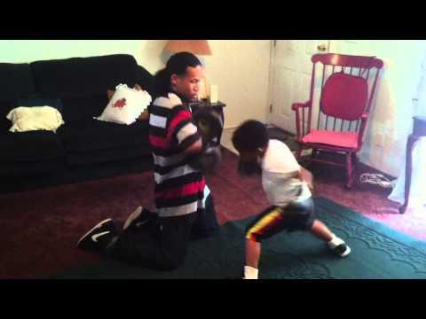 Future Boxing Champion, 5 year old Nijee