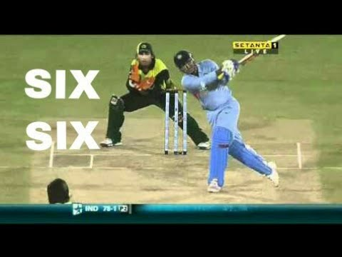 Virendra Sehwag hitted Huge Sixes to Sahid Afridi | Enjoy Video