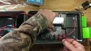 How to build a 12v portable power box