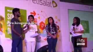 Manwa Laage Dubsmash Live @ Social Media Day Colombo - Hiru Gossip (www.hirugossip.lk)