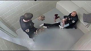 WARNING GRAPHIC: Surveillance Video of Cassandra Feuerstein's Arrest