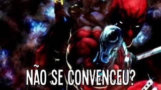 Deadpool VS  Exterminador   Duelo de Titãs
