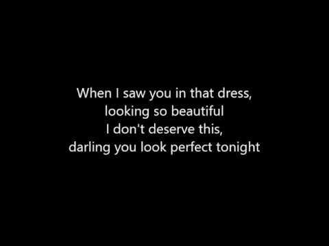 Ed Sheeran Perfect letra