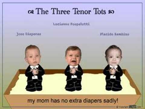 The Three Tenor Tots