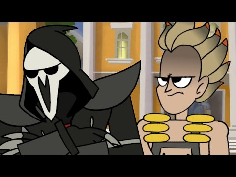 Reaper is Sad (Overwatch Animation)